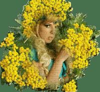femme mimosas  woman mimosa