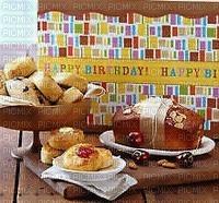 Bon anniversaire la pâtisserie bonne journée