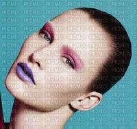 image encre femme visage edited by me