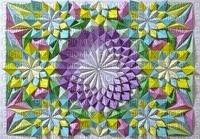 MMarcia Origami - flores fundo