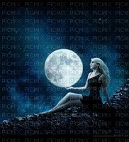 MMarcia fundo mulher lua
