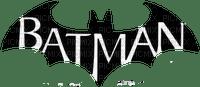batman text and logo