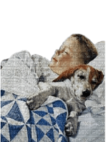 child with dog bp