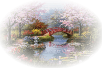 landscape spring garden_jardin printemps-paysage-nature_paysage