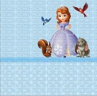image encre couleur animaux oiseaux  anniversaire effet à pois princesse Sofia Disney  edited by me
