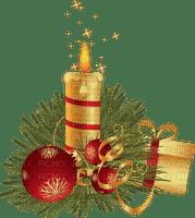 Kaz_Creations Deco Candles Baubles  Christmas Noel