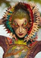 image encre femme visage effet mariage fashion art ivk ink edited by me