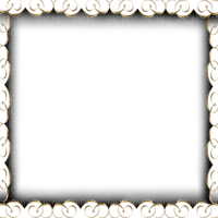 frame transparent gold deco cadre transparent