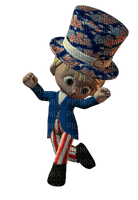 Kathleen Reynolds 4th July American USA Dolls Cookie Poser