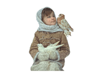 child with animal bp