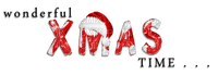 soave deco christmas text  black white red
