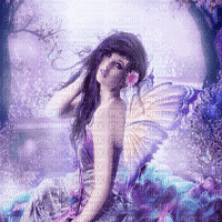 feerie violette fairy purple