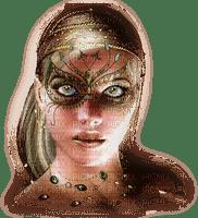 carnival mardi gras  carnival karneval carnaval   mask woman femme frau carneval green tube