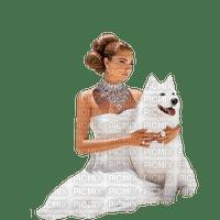 Kaz_Creations Woman Femme Dog