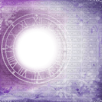 fond background purple effect cadre frame circle clock uhr fantasy tube overlay