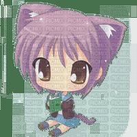Manga Chat Fille