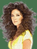Woman Yellow Brown - Bogusia