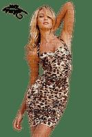 femme leopard