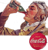 coca cola vintage pilot