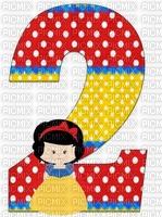 image encre numéro 2 bon anniversaire edited by me