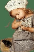enfant oiseau child girl bird 👧👧