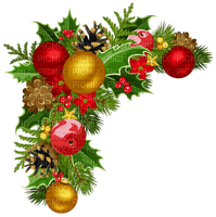 christmas corner deco noel