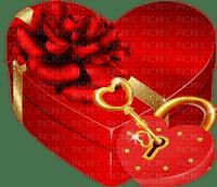 cœur cadeau  Saint Valentin amour_heart gift  St. Valentin love