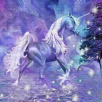 fantasy unicorn bg licorne fantaisie fond