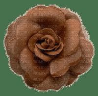 autumn deco brown rose flower kikkapink