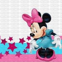image encre couleur Minnie Disney anniversaire dessin texture effet edited by me