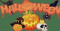 deco halloween  pumpkin text
