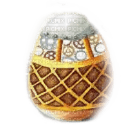 steampunk easter egg pâques oeuf