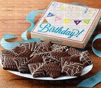 Bon anniversaire la pâtisserie bonne journée chocolat