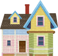 Pastel Victorian House Home