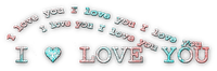 soave text deco with love valentine's day