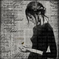 Woman Black Frame  - Bogusia
