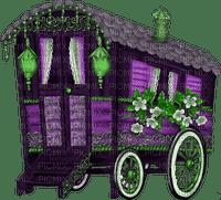 Gypsy Camper.Purple.Green