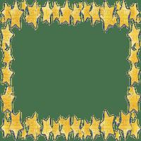 stars frame yellow