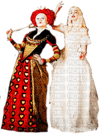 ALICE IN WONDERLAND RED AND WHITE QUEEN