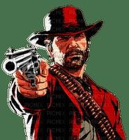 Cowboy. Gun. Leila