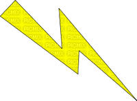 éclair picatchu jaune