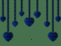 blue hearts border