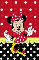 image encre color effet à pois  Minnie Disney edited by me