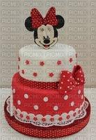 image encre gâteau pâtisserie bon anniversaire Minnie Disney edited by me