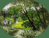 spring landscape paysage printemps
