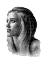 mujer en blanco y negro by EstrellaCristal