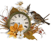 Automne.Montre.Clock.Autumn.deco.Victoriabea