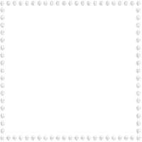Deco Pearl Frame~White©Esme4eva