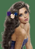 woman spring flower
