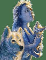 loup avec femme.Cheyenne63